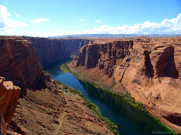what to do in Page AZ Glen Canyon Dam Scenic Overlook