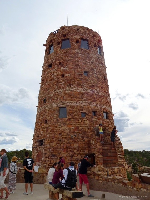 what to see at the Grand Canyon Desert Tower