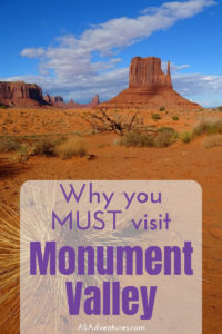 If you want to see the most iconic landscapes of the American southwest, you MUST visit Monument Valley. Here are my tips for visiting Monument Valley Park, plus the best Monument Valley campground and visiting the Four Corners Monument. #utah #arizona #usa #camping #traveltips #navajo