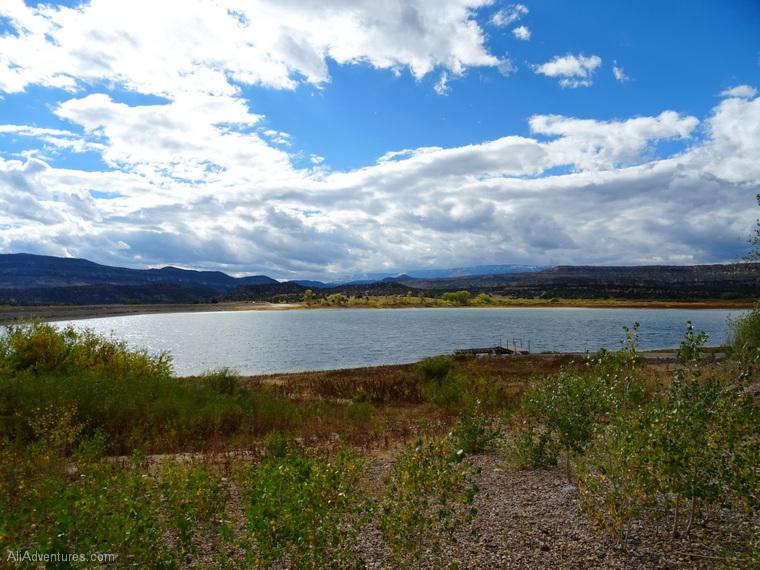 Escalante Petrified Forest State Park Utah
