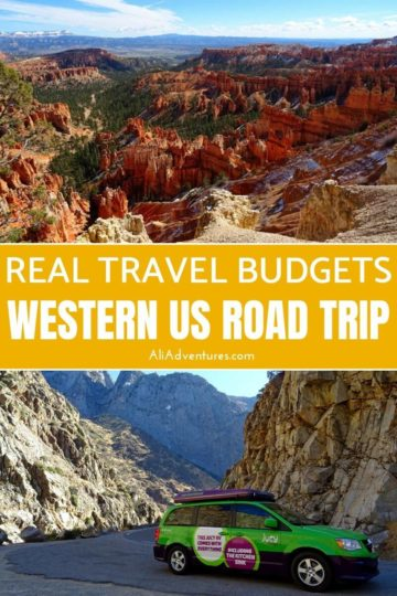 Here's how much we spent on a southwest USA road trip in a campervan to help you plan your budget for a road trip in the western US including national parks. #usa #ca #az #ut #roadtrip #budgettravel #traveltips #campervan