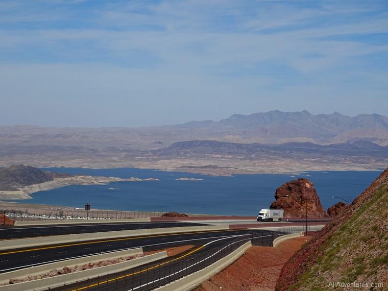 scenic overlook almost Hoover Dam NV
