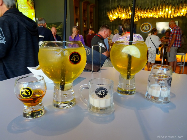 how much we spent in Cartagena, Spain - Licor 43 tour