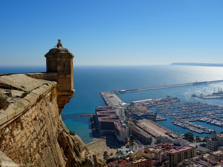 one week in Alicante Spain