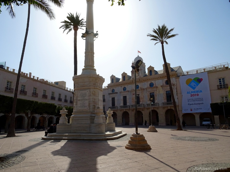 how much we spent in Almeria Spain for 2 days