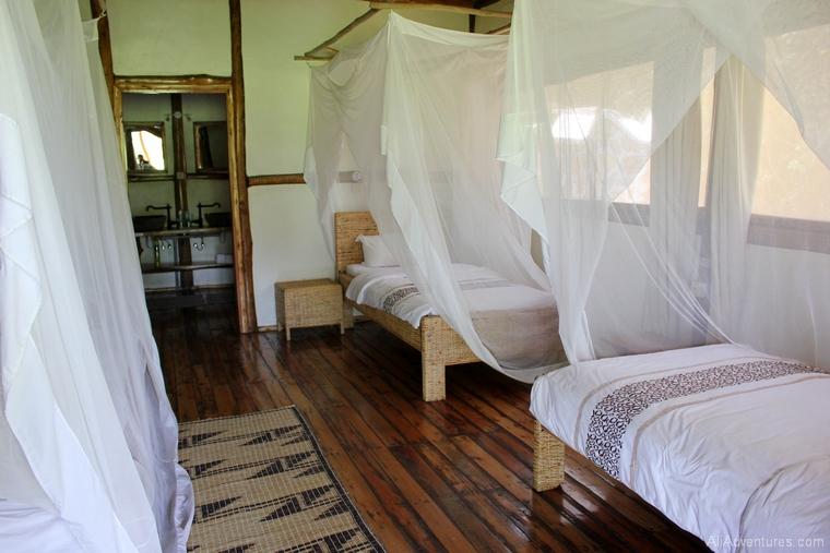 safari in Uganda where to stay in Queen Elizabeth National Park south