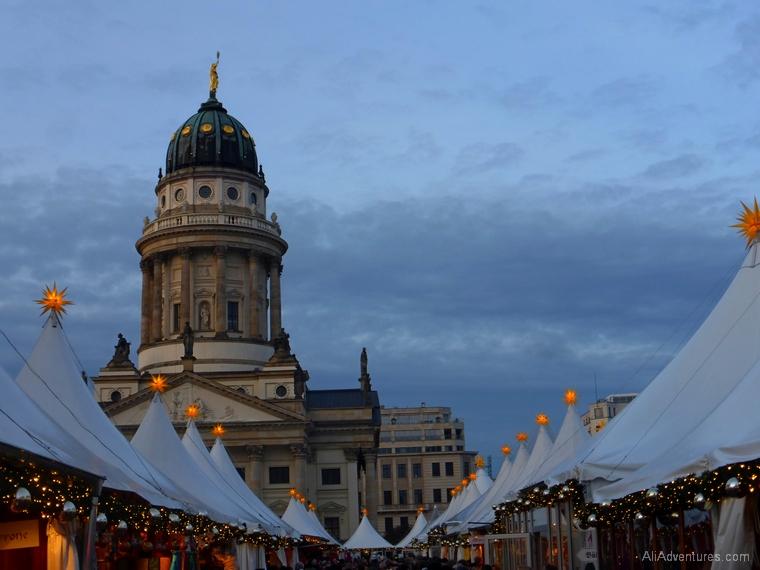 German Christmas market breaks Berlin Gendarmenmarkt