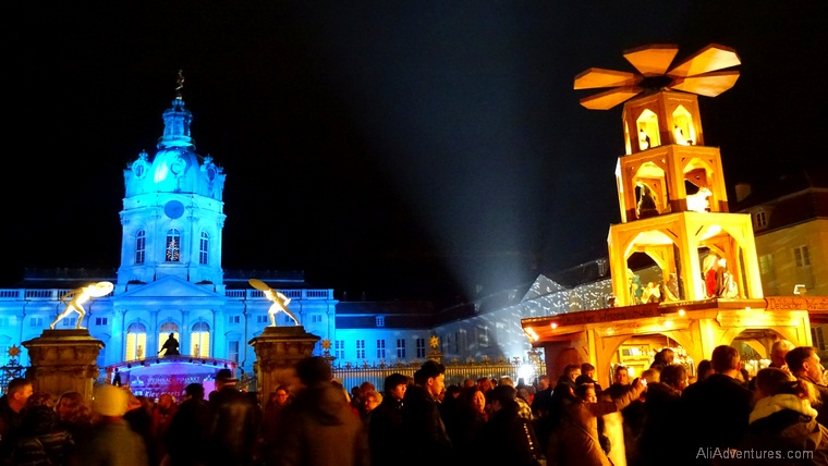 German Christmas market trips Berlin Charlottenburg Schloss