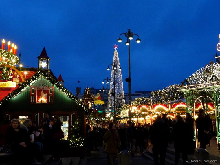 Hamburg Christmas markets in Germany
