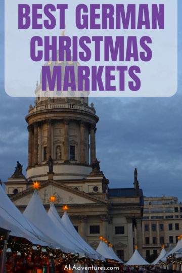 Virtually every town and city in Germany has Christmas markets in December. Here's a look at what I think are some of the best Christmas markets in Germany, plus a few good ones in neighboring countries, and all the info you need to know before visiting a German Christmas market. #germany #christmas #traveltips #travelplanning