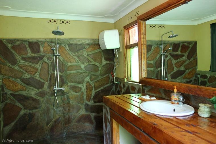 where we stayed in Bwindi Impenetrable Forest Uganda
