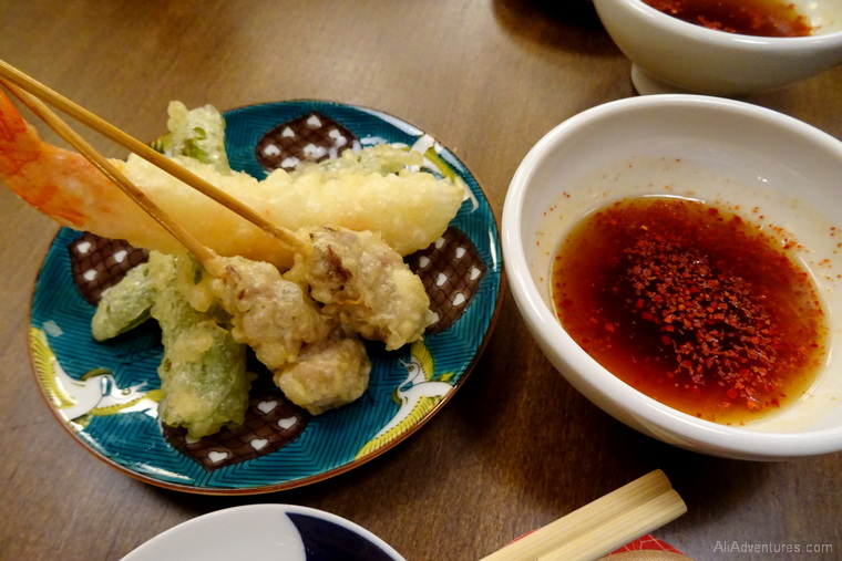 3 weeks in Japan cost Kyoto food tour