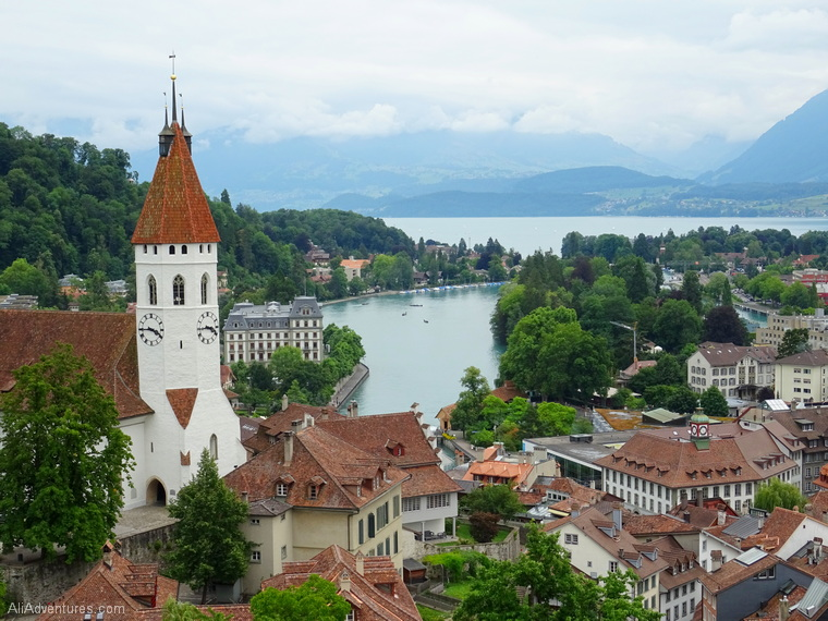is Switzerland expensive to visit - Thun