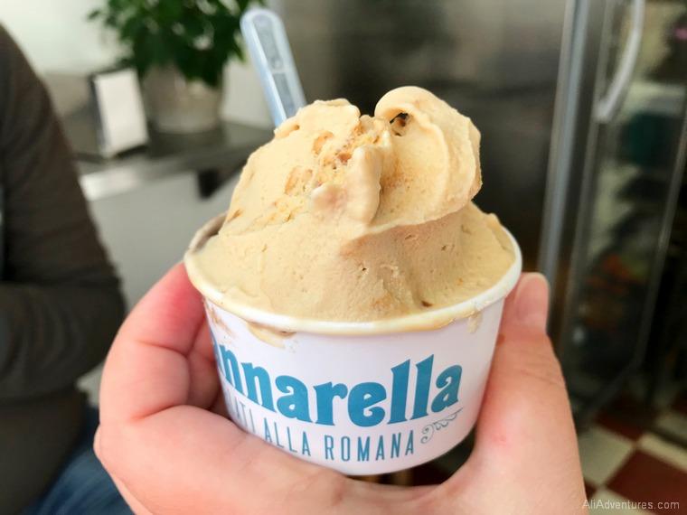 Lisbon travel costs - Nannarella gelato